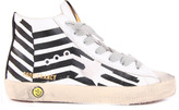 Golden Goose Deluxe Brand Francy Flag Leather Trainers