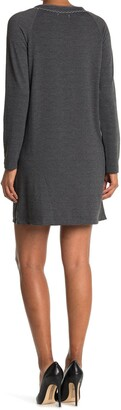 Max Studio French Terry Knit Dress