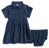 Calvin Klein Baby Girl's Denim Dress and Bloomers Set