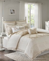 Madison Home USA Mindy Cotton 9-Pc. King Duvet Cover Set Bedding