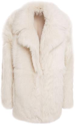 Theory Reversible Shearling Coat