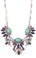 Sorrelli Semi-Precious Stone & Multi-Cut Crystal Statement Necklace