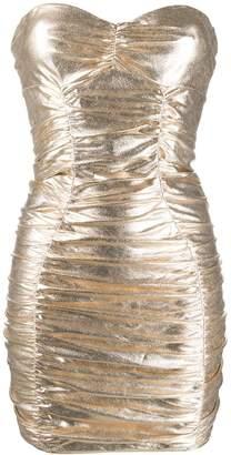 Elisabetta Franchi Ruched Mini Dress