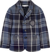 Dolce & Gabbana Tartan new wool jacket