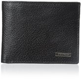 Steve Madden Men's Pebbled Passcase Wallet