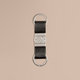Burberry London Leather Valet Key Ring