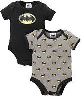 Mothercare Baby Boys Batman - 2 Pack Bodyysuit