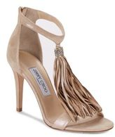 Jimmy Choo Leather Open-Toe Stiletto Sandals