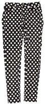 Kate Spade Apple Print Skinny Jeans