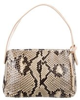 Sergio Rossi Python Shoulder Bag