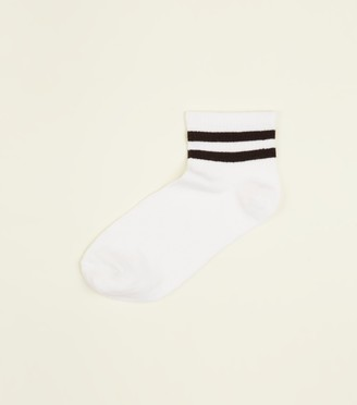 New Look Sport Stripe Ribbed Socks