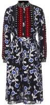 Dodo Bar Or Metallic embroidered dress