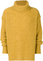 Common Wild chunky knit turtleneck sweater
