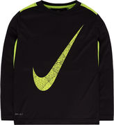 Nike Long-Sleeve Dri-FIT Tee - Preschool Boys 4-7