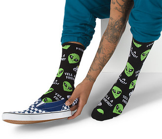 Vans Road Trip Aliens Crew Sock