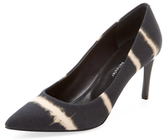 Proenza Schouler Tie Dye Stripe Pointed-Toe Pump
