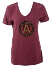 Majestic Atlanta United Fc Women's Distressed Logo T-Shirt
