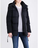 Canada Goose Ladies Black Classic Sylvan Shell Padded Jacket