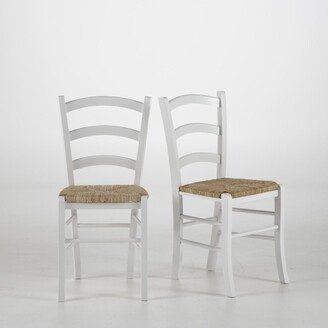 La Redoute Interieurs Set of 2 Perrine Farmhouse Chairs in Solid Beech