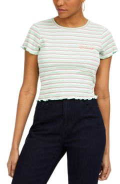 Dickies Junior's Striped Cotton Baby T-Shirt