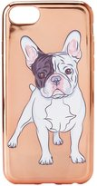 Charlotte Russe Metallic Boxer Dog Phone Case
