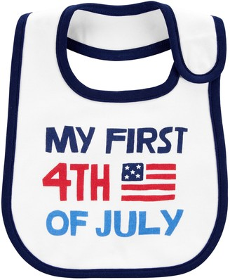 Carter's Baby First 4th Of July Teething Bib