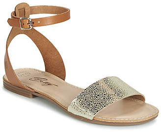 Betty London GIMY women's Sandals in Brown