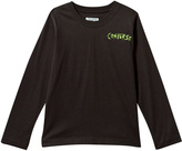 Converse Black Skeleton Hands Long Sleeve Tee