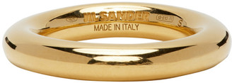 Jil Sander Gold Classic Ring