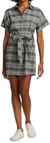 Thumbnail for your product : Alice + Olivia Lucette Plaid Belted Mini-Dress