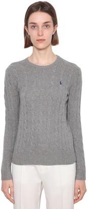 Polo Ralph Lauren Merino Wool & Cashmere Cableknit Sweater