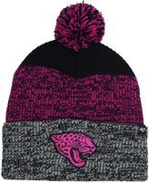 '47 Jacksonville Jaguars Static Cuff Pom Knit Hat