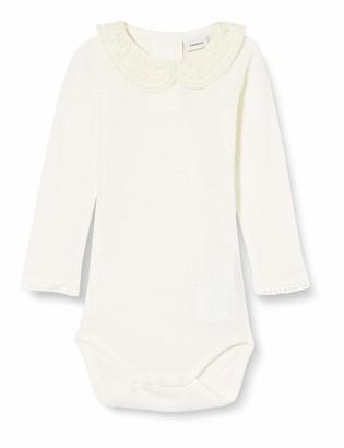 Name It Baby_Girl's NBFWANG Wool Need.LS Body W/COL NOOS XX Bodysuit