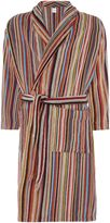 Paul Smith Men's Multi Stripe Towelling Robe