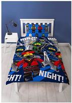Lego Ninjago Movie Single Duvet Cover Set