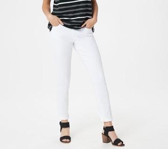 Vince Camuto White Denim 5-Pocket Ankle Jean