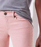 LOFT Petite Modern Skinny Crop Jeans in Railroad Red