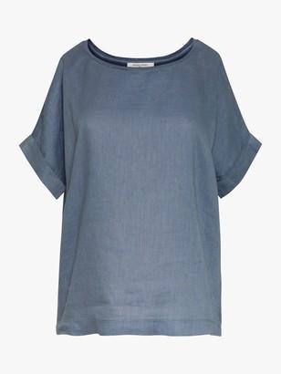 Gerard Darel July Linen Short Sleeve T-Shirt