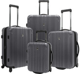 Traveler's Choice Luxembourg 4-Piece Expandable Hard-Sided Luggage S