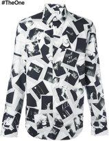 Maison Margiela polaroid print shirt