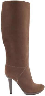 Bottega Veneta Brown Suede Boots