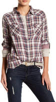 Love Stitch Gauze Western Yoke Shirt