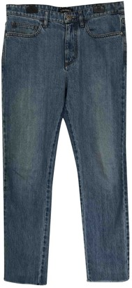 Pharrell Chanel X Williams Blue Cotton Jeans for Women