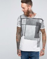 Nudie Jeans Raw Hem Collage T-Shirt