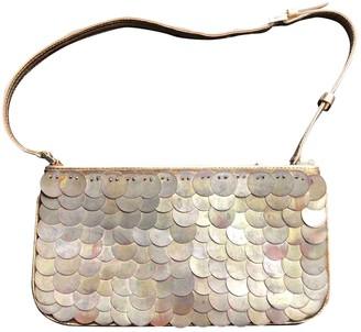 Celine Gold Metal Clutch bags