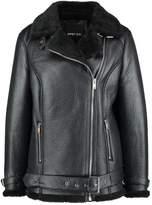 Gipsy KADY Faux leather jacket black
