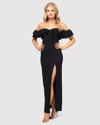 Pilgrim Women's Black Maxi dresses - Capria Gown - Size One Size, 10 at The Iconic