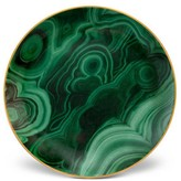L'OBJET Set of Four Malachite Canape Plates