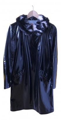 Shrimps Black Synthetic Coats