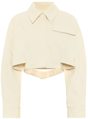 Jacquemus La Veste Esterel cotton jacket
